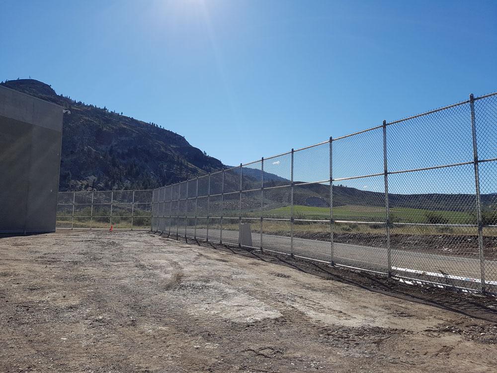 Chain link fence design installation progressive