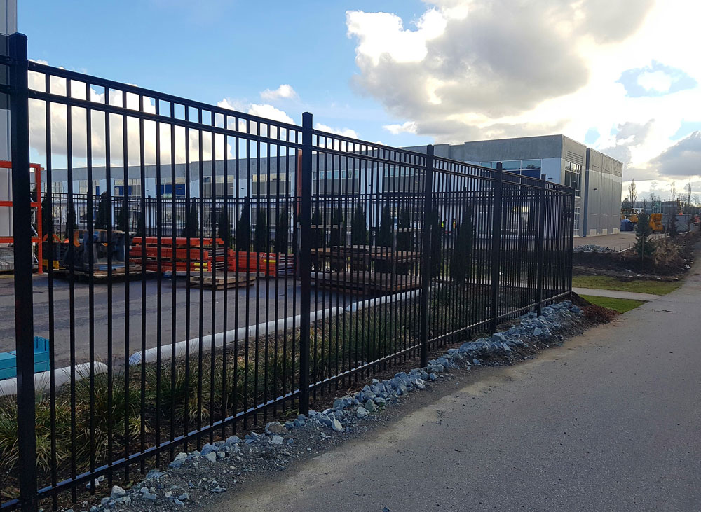 Metal fence design installation progressive company